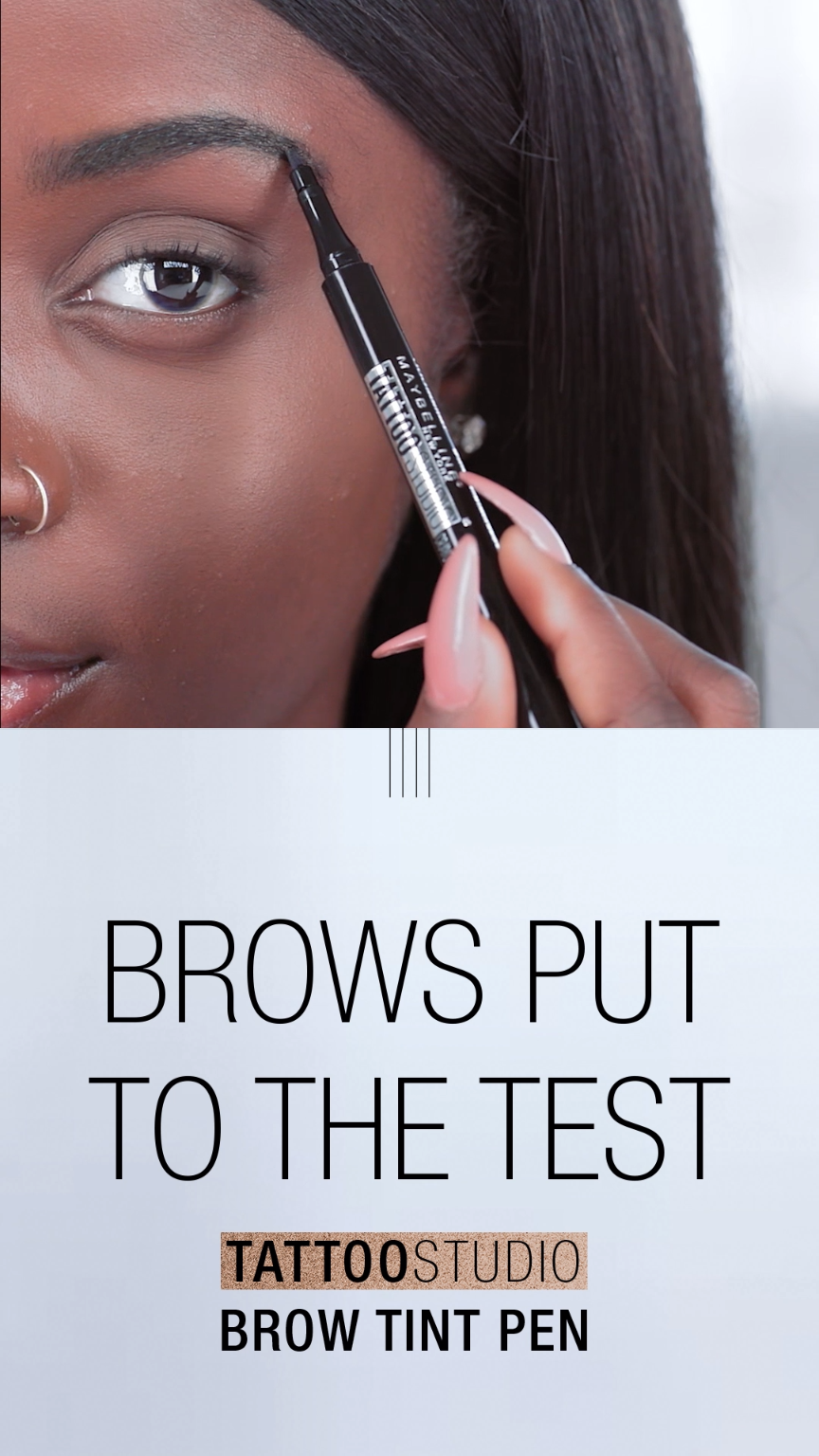 Maybelline TattooStudio Brow Tint Pen | Maybelline Beauty Guides