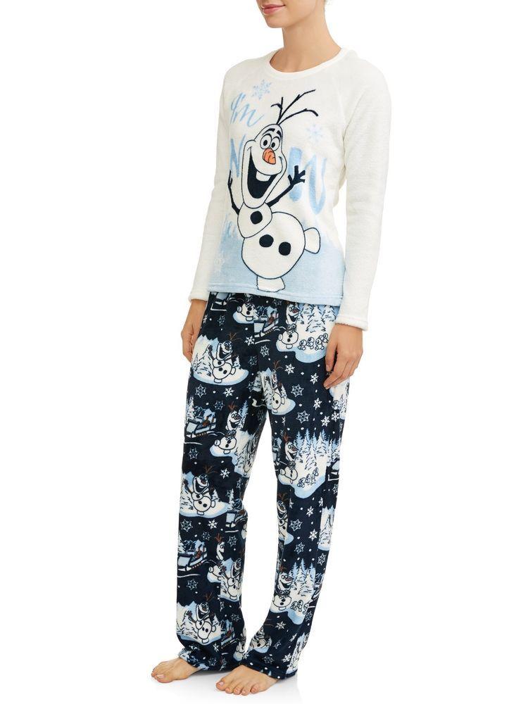 Disney s Frozen Plush Soft Pajama Set Womens Olaf PJ s Gift Pajama Set  S-3XL  Disney  PajamaSets  Everyday a8a6b97f7