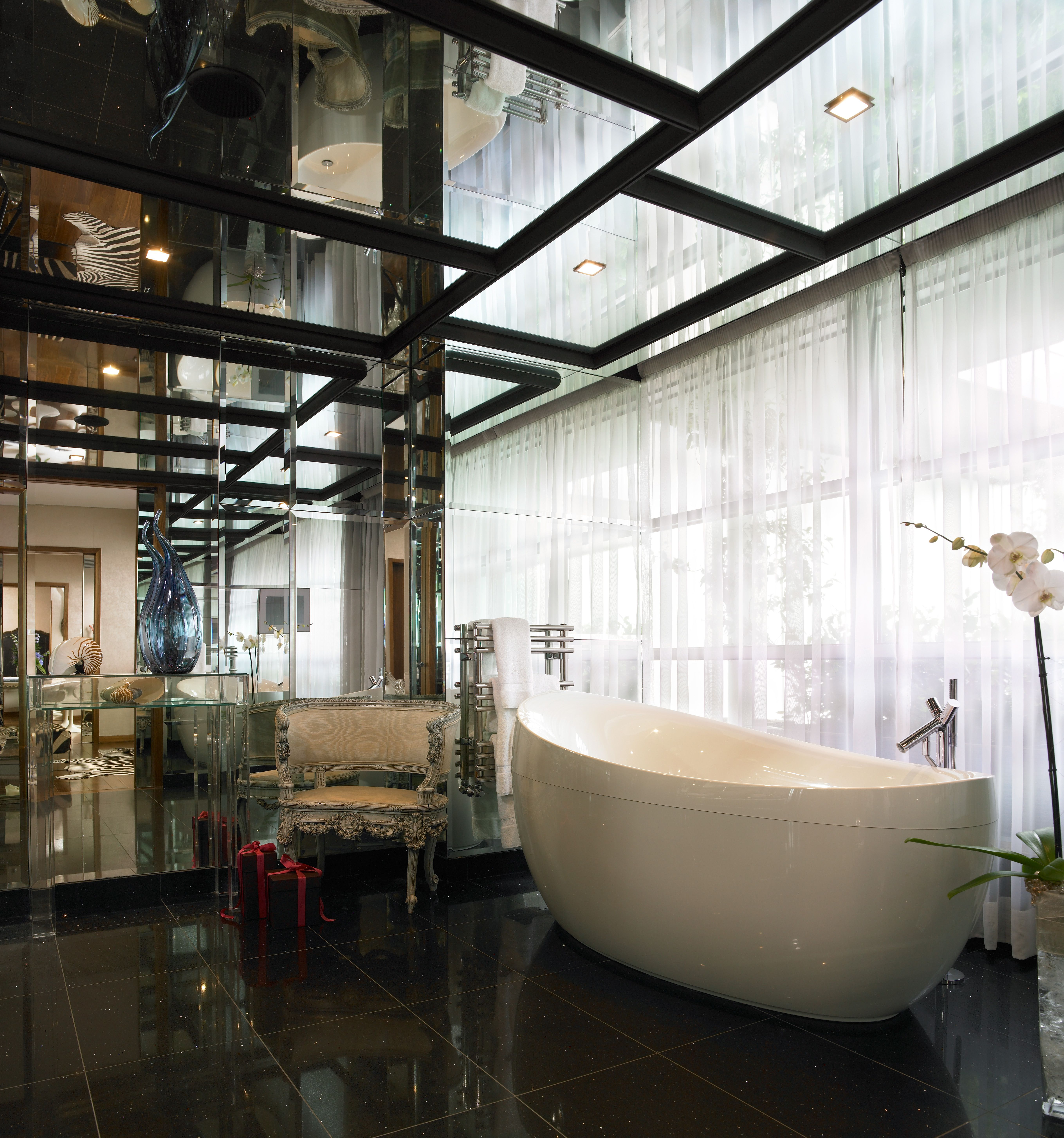 The g Hotel Galway - Linda Evangelista Suite (Penthouse) Bathroom