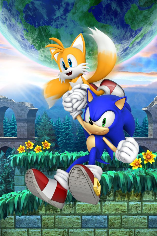 Sonic The Hedgehog And Tails Background Cool Wallpapers And