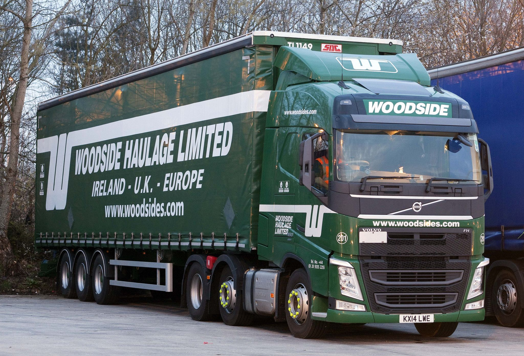 Volvo FH new look KX14 LWE Woodside haulage Ltd (With