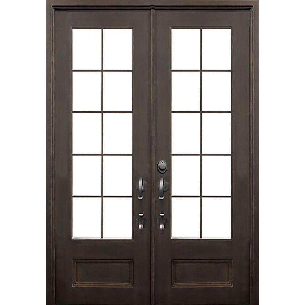 Front door with sidelites m6410 103010 ct 4irh the home depot - 72 Exterior Double Door
