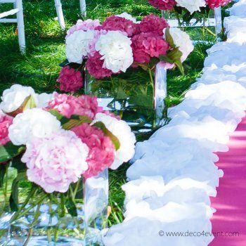 blumenstrau nice aus hortensien pink rosa kaufen hochzeitsblumen blumenstrau. Black Bedroom Furniture Sets. Home Design Ideas