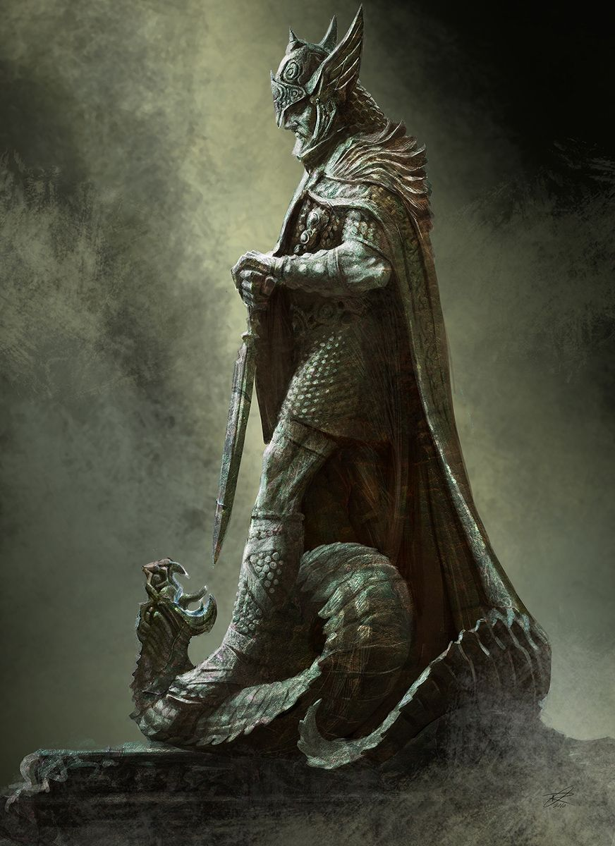 "Tiber Septim Commonly known as General Talos, Hjalti Early-Beard, the Dragonborn, and Ysmir. Tiber Septim was an emperor of Nordic descent who became one of the most famed figures in Tamrielic history, reigning as Emperor Tiber Septim from 2E 854-3E 38. He ruled for 81 years, and was considered by many to be the greatest emperor in the history of Nirn.Tiber is now revered as one of the Nine Divines under the name of Talos (his birth name), which means ""Stormcrown""."