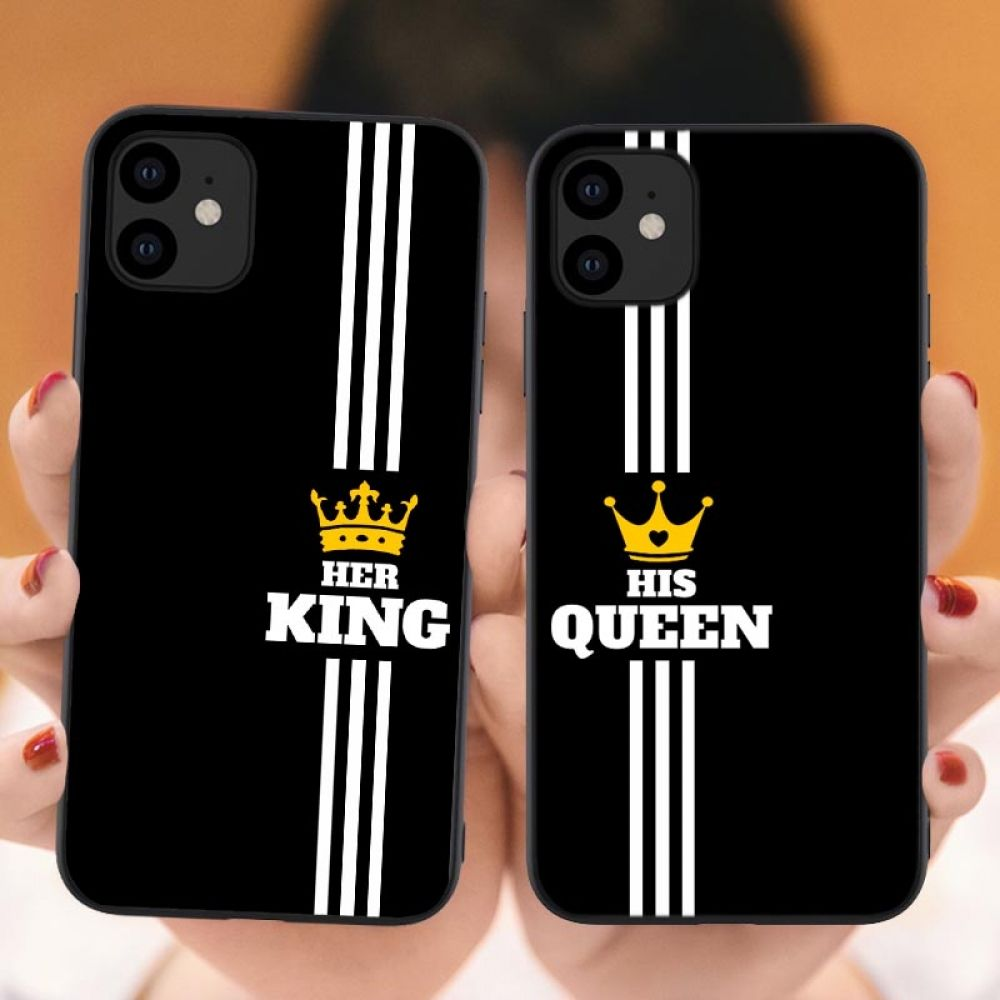 Pin On Fundas Iphone black iphone king and queen