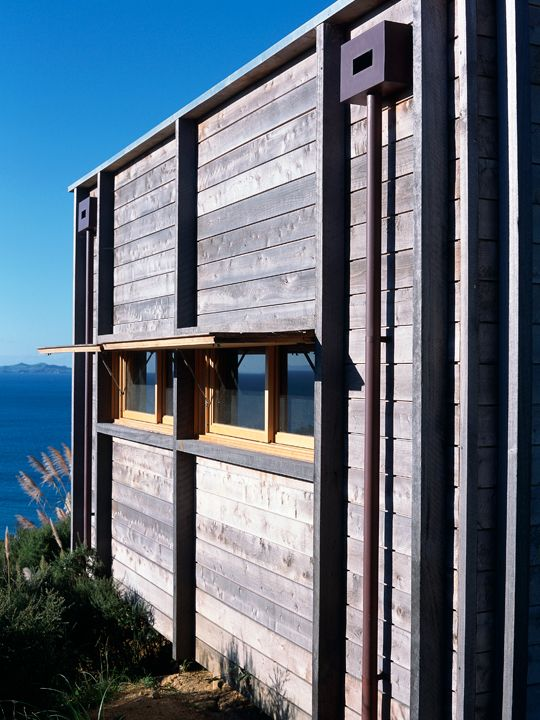Coromandel bach beach house designed by crosson clarke carnachan architects in the coromandel region of