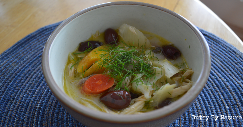 Mediterranean Stewed Hen and Vegetables - Gutsy By Nature