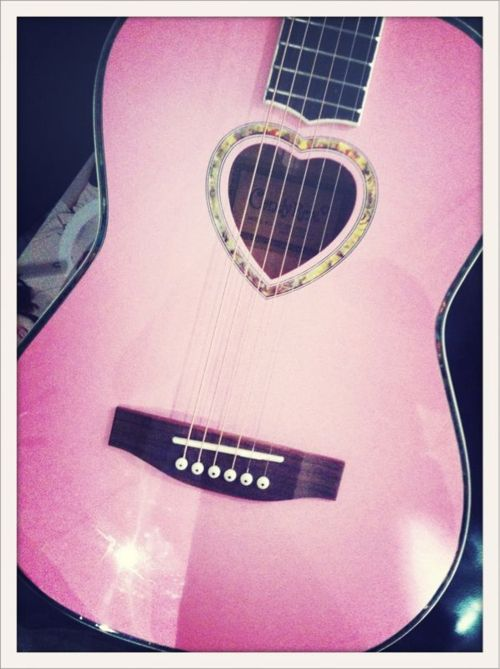 i have this<3 her name is Gabrielle - After Gabrielle Aplin! <3 (my guitar)