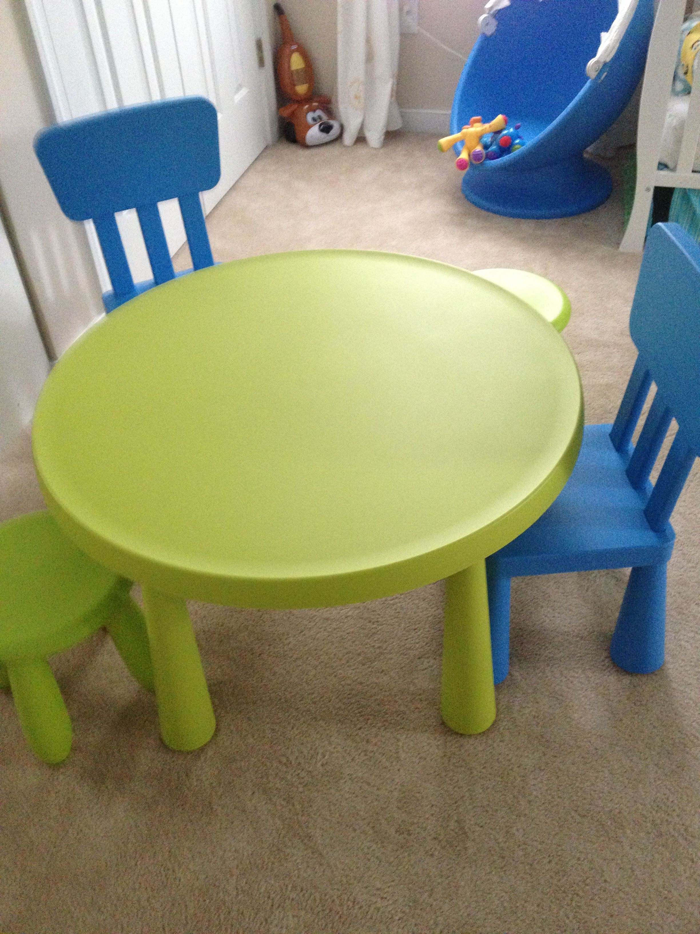 ikea children 39 s table and chairs all about kieran. Black Bedroom Furniture Sets. Home Design Ideas