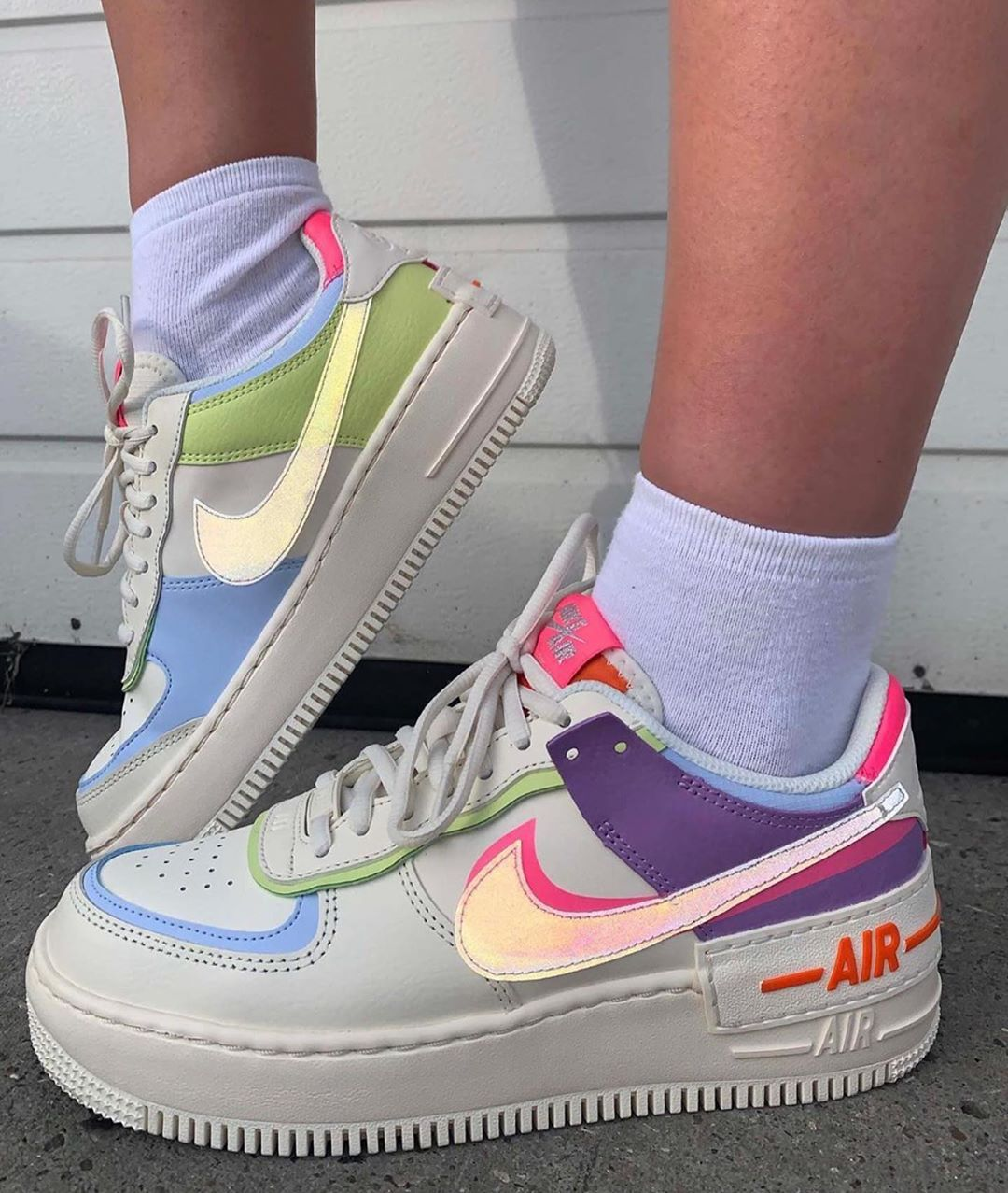 Kingwalk Es On Instagram Nike Air Force One Shadow Por Tan Solo 59 95 Te Gustan A Nosotros Nos Encantan In 2020 Nike Air Shoes Hype Shoes Nike Shoes Women