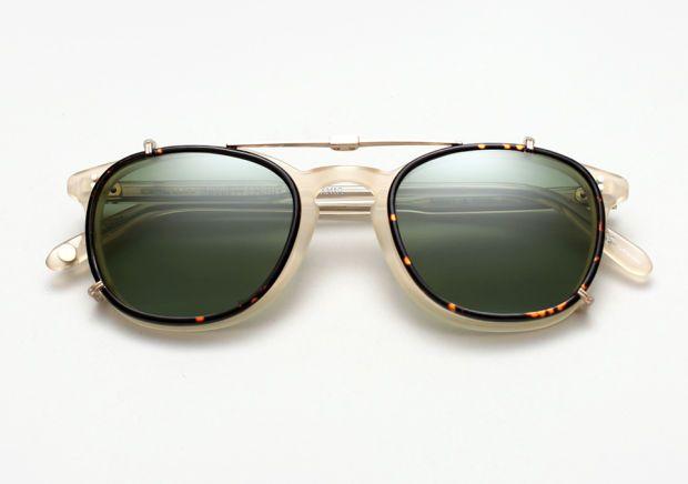 clip lunettes de soleil ray ban