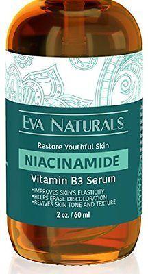Vitamin B3 5 Niacinamide Serum By Eva Naturals 2 Oz Niacinamide