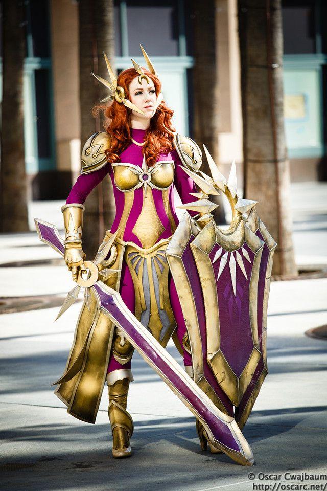 League Of Legends Leona Cosplay By Missyeru Deviantart Com On