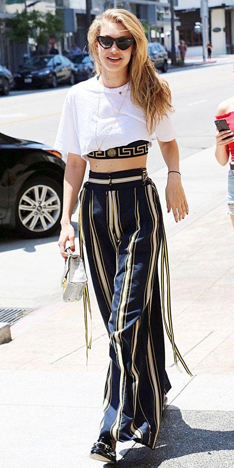 Les meilleurs moments Street Style de Gigi Hadid   – Giyim