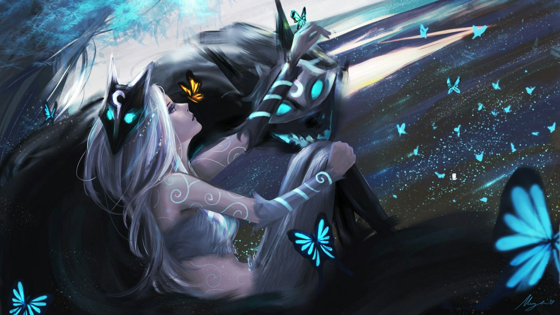 Kindred | LOL (League of Legends) in 2019 | League of ...