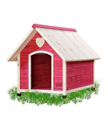 Super Cute Pink Princess Pad Dog House Just For Hanging Out