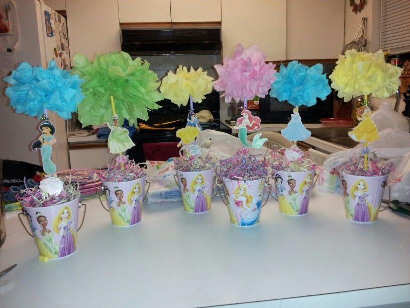 disney princesses centerpieces kids pinterest disney
