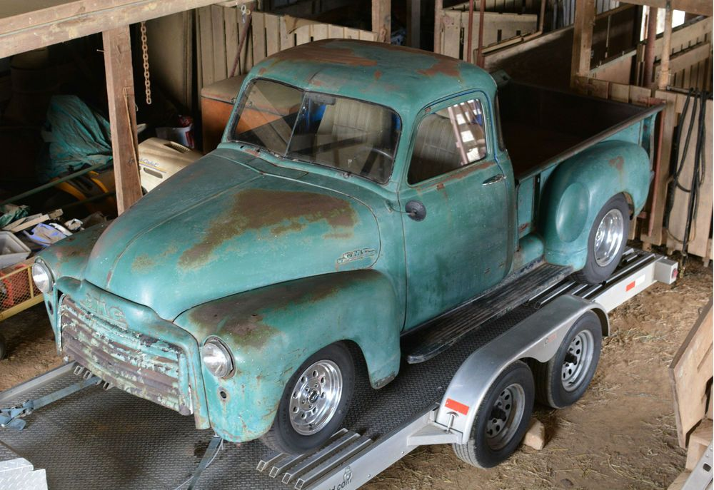 1953 Chevrolet Other Pickups GMC 3100 SWB 5 WINDOW PICKUP TRUCK-BARN ...