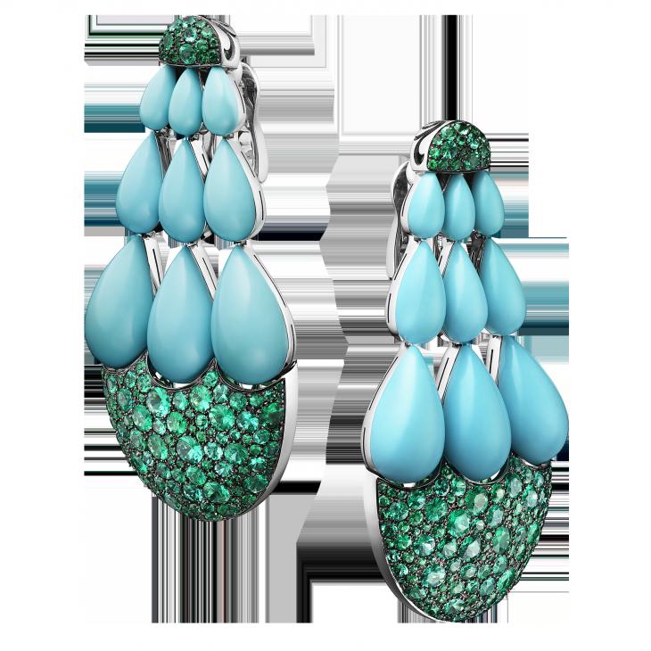 India earrings by De Grisogon - Αναζήτηση Google