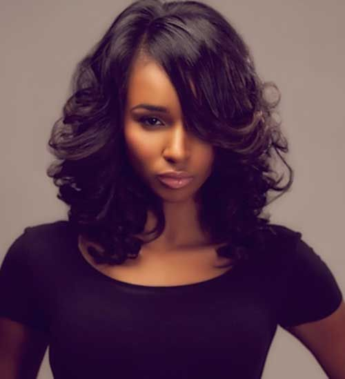 Hairstyles For Black Women Delectable 7Long Bob Hairstyle For Black Women  Cool Hair  Pinterest