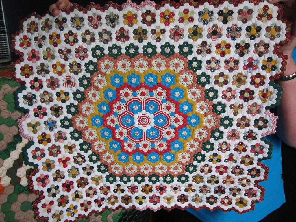 1/4 inch hexagons