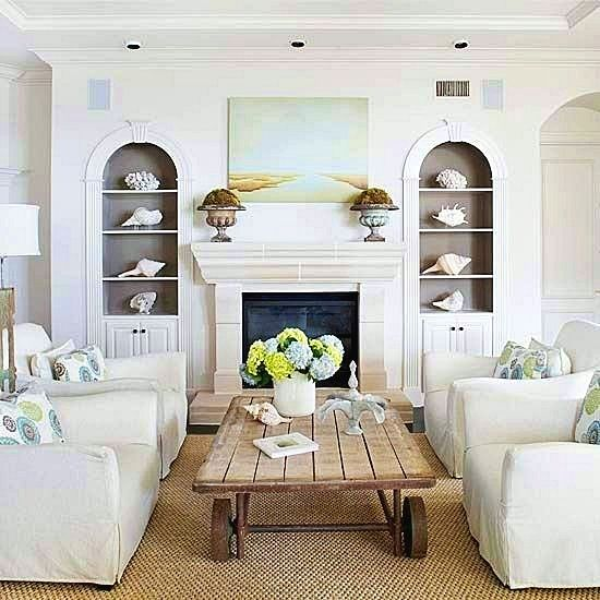 Easy Simple & Cheap Living Room Tips And Ideas | Coastal ...
