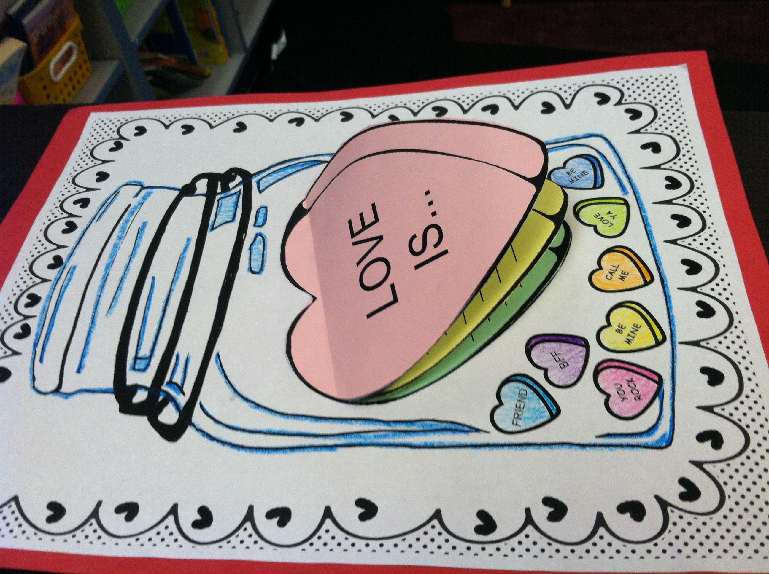 Jars Of Love Valentine S Day Craftivity