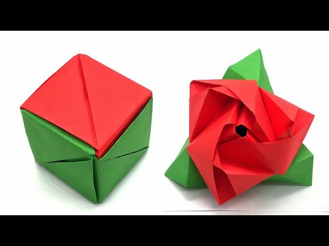 Photo of Origami Magic Rose Cube – 1032