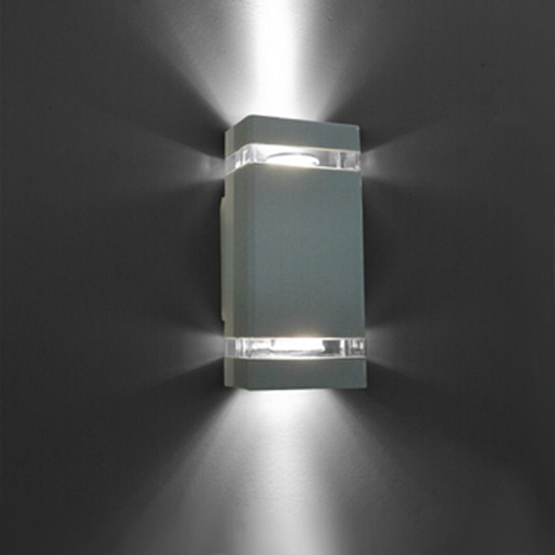 1pcs lot led waterproof outdoor modern wall light mounted 8w ac85