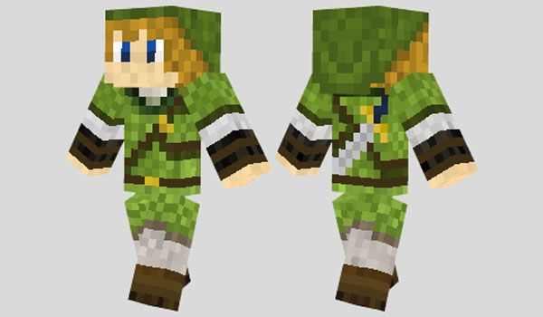 Zelda Skin Para Minecraft Minecraft Skins Pinterest Minecraft - Skins para minecraft zelda