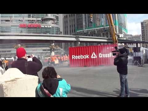 Crossfit Workout Music - Reebok / Crossfit Flash WOD - Toronto - Feb 22, 2012  #Crossfit Fitness & D...