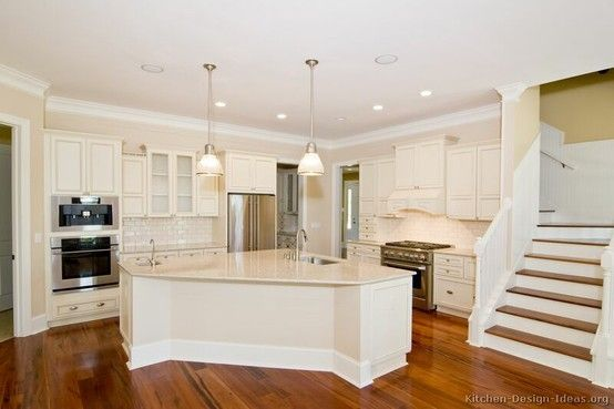 Huge Triangle Kitchen Island by loracia | KitchenIdeasCurrent ...