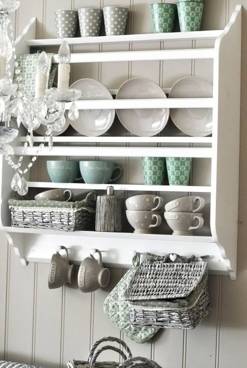 I never thought to use a plate rack. It's pretty #plateracks