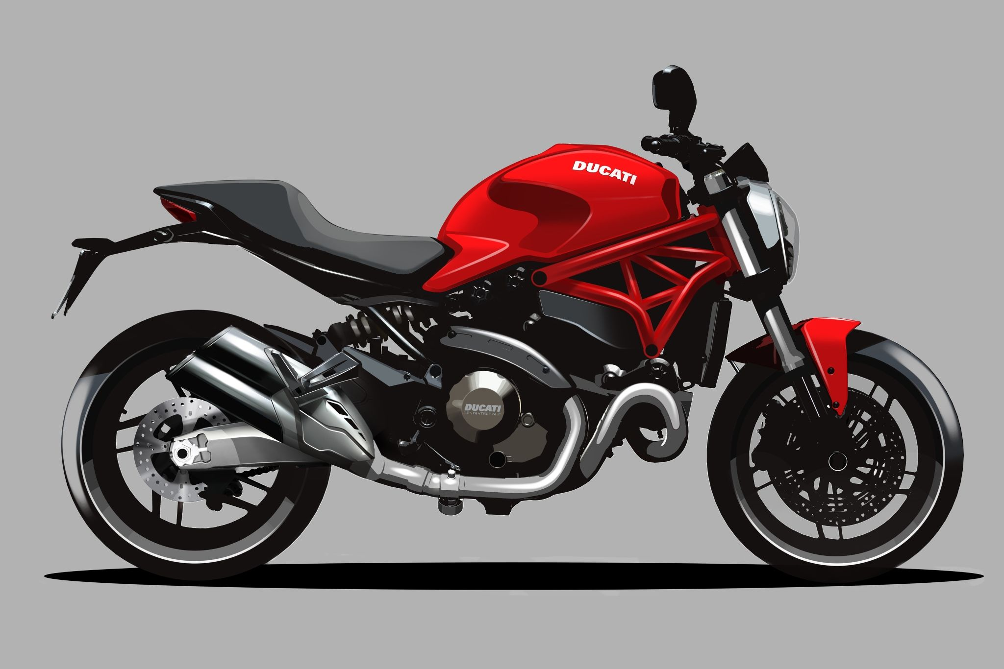 2015 Ducati Monster 821 Huge Pic Collection [Video][Photo Gallery]
