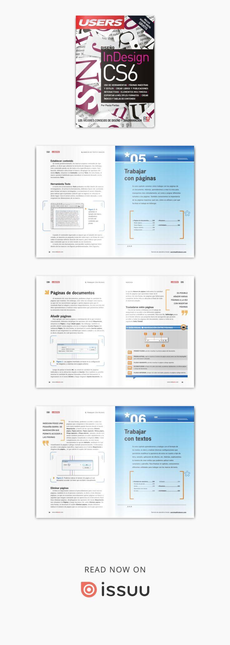 InDesign CS6 | Folletos, Maestros y Herramientas
