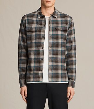 Men's Maitland Shirt (Washed Khaki Brown) -