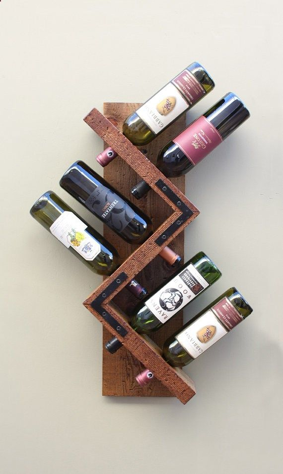 Rustic And Unique Charm You Wont Find Everywhere Wine Rack Wall