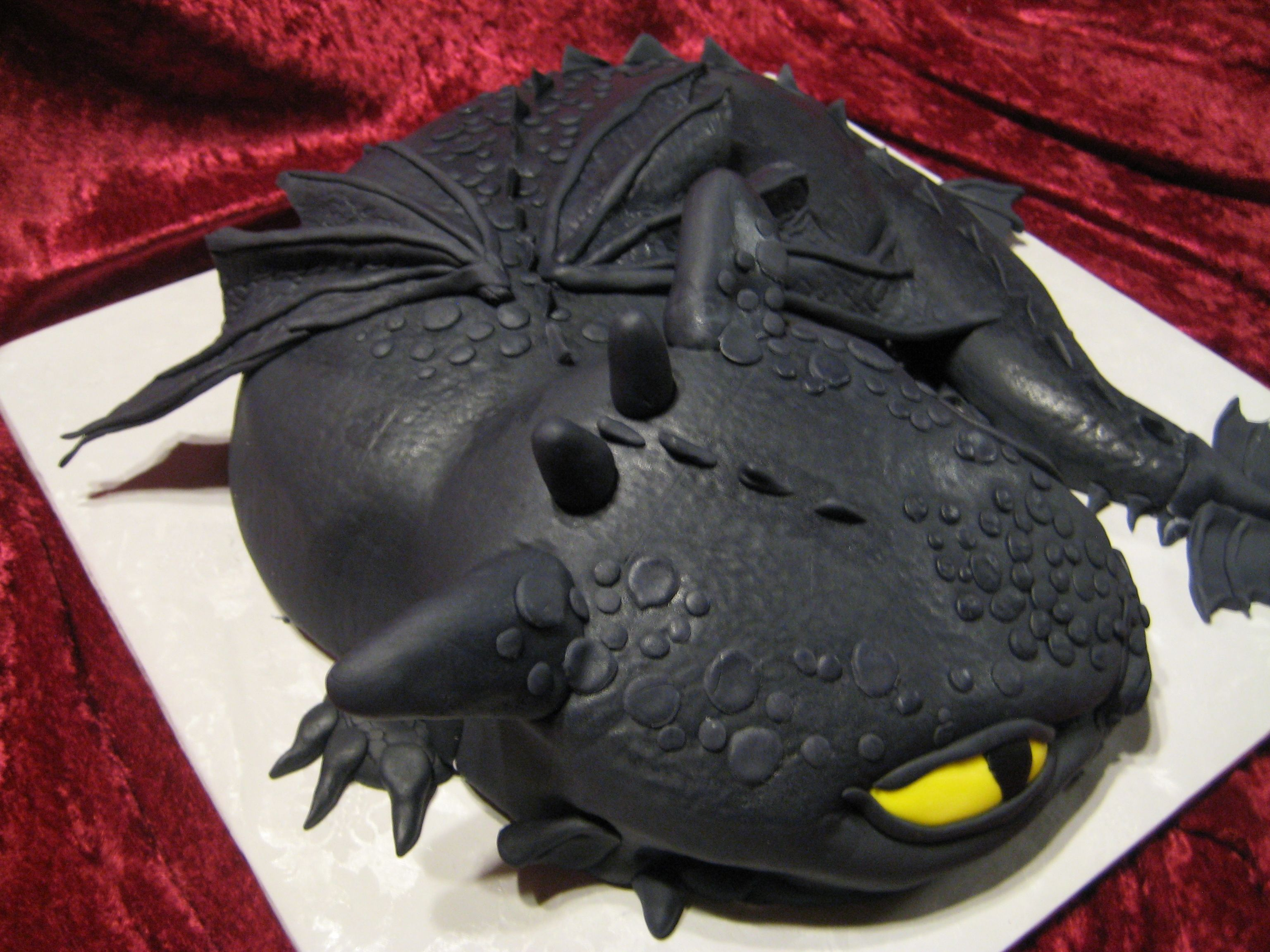 """Baby """"toothless"""" Dragon ( How To Train Your Dragon)"""