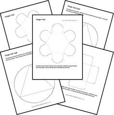FREE Lapbook Templates from Homeschool Share! Can't wait