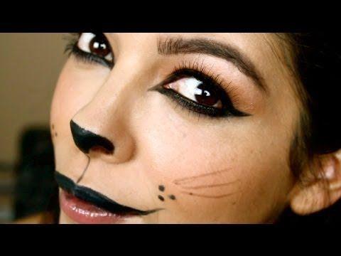 Last Minute Halloween Costume Tutorial Kitty Cat Halloween - easy makeup halloween ideas