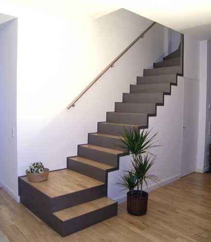 Haus Umbau Hausbau Ideen Wohnen Handlauf Treppe Offene Treppe .