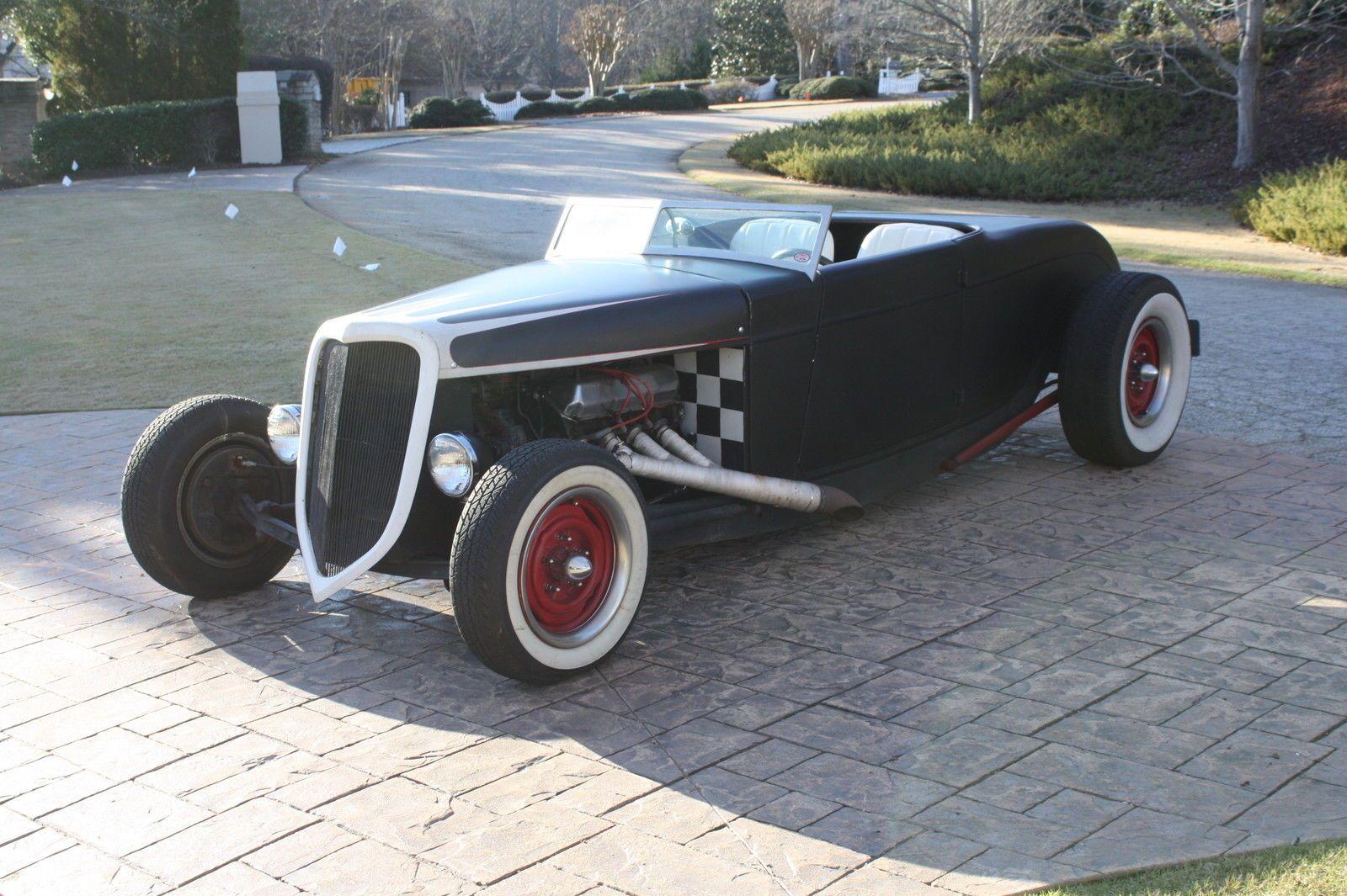 1934 ford rat rod hot rod