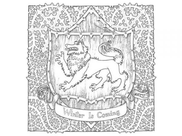 Game of thrones | Coloring books, Coloring pages, Adult coloring