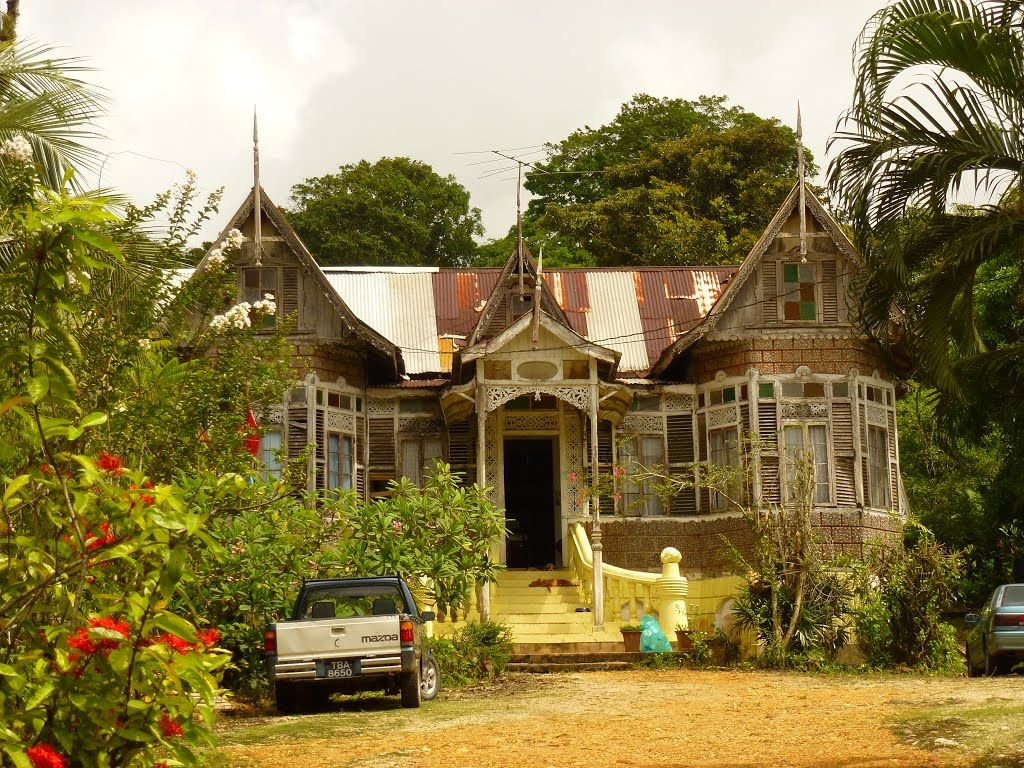 Plantation house sangre grande trinidad the mission for Trinidad houses