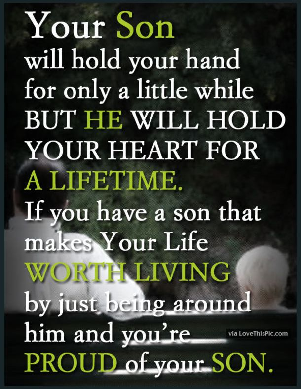I Love My Son Quotes Interesting 48 Best Mother And Son Quotes Son Quotes Pinterest Son Quotes
