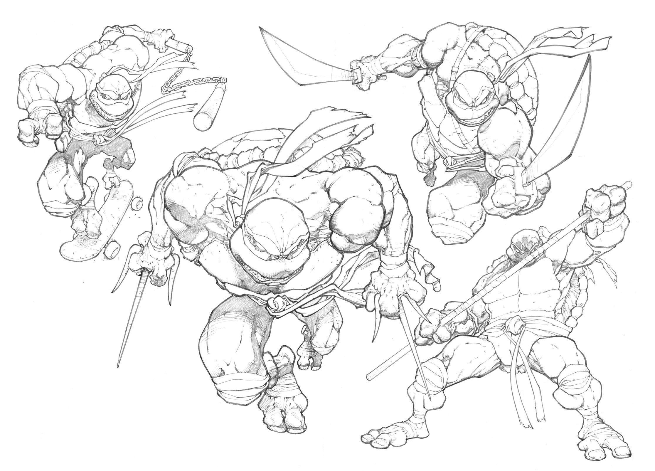 Ninja Turtles By Mikebowdenviantart On Deviantart