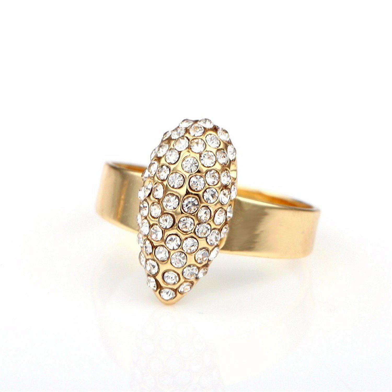 Moochi gold plated crystal embedded water drop necklace bracelet
