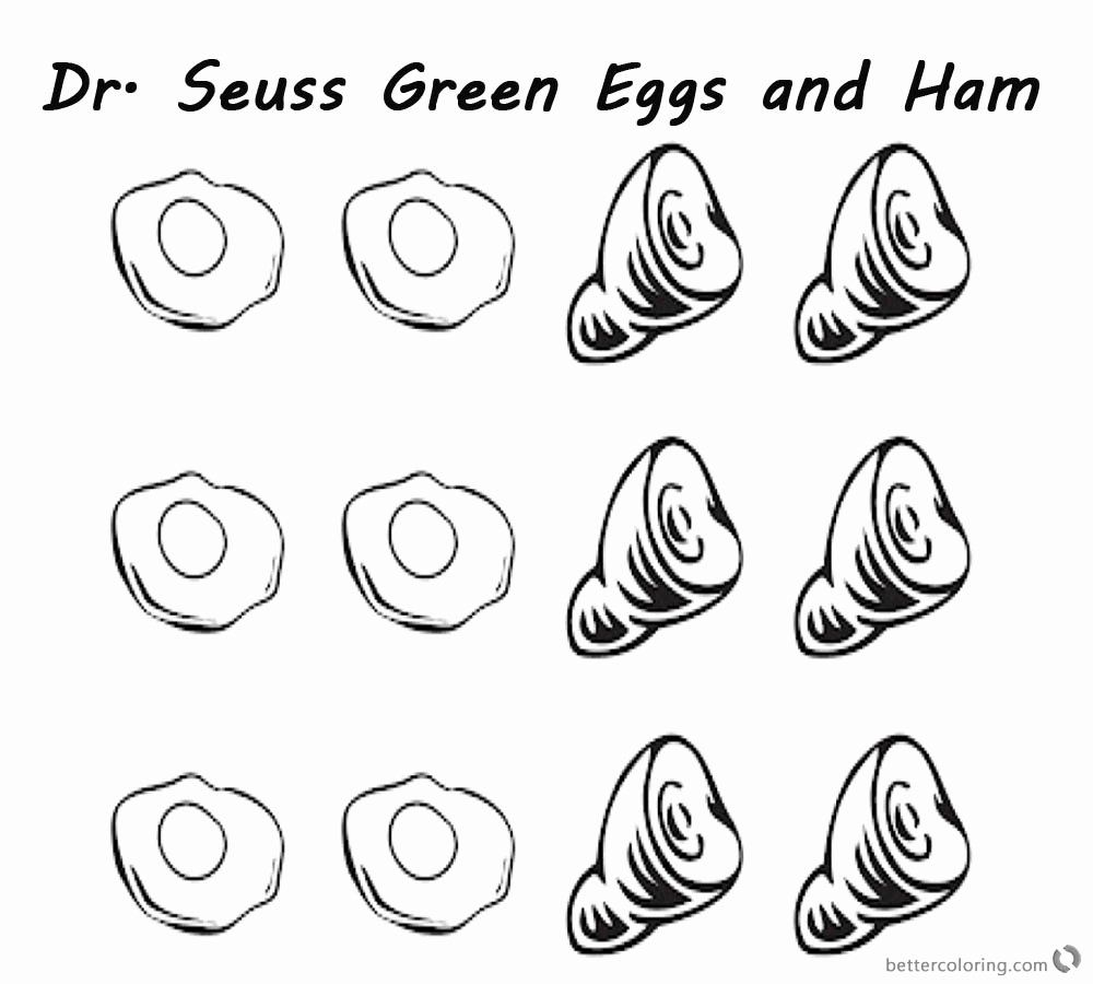 Green Eggs And Ham Coloring Page Beautiful Dr Seuss Green Eggs And Ham Coloring Pages Six Eggs And Dr Seuss Coloring Pages Dr Suess Crafts Dr Seuss Crafts