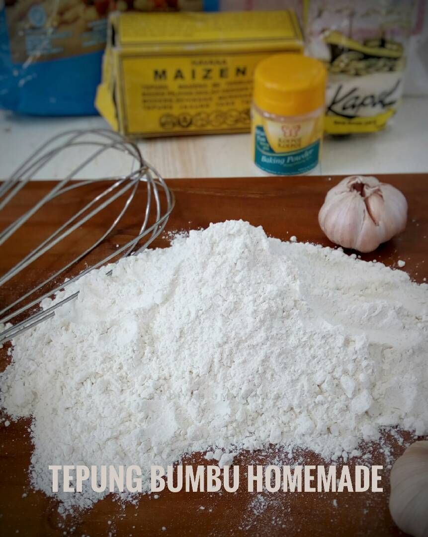 Resep Tepung Bumbu Homemade Oleh Diyah Kuntari Resep Tepung Resep Masakan Resep Ayam