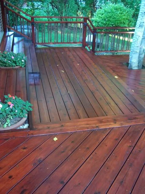 Sikkens Cetol Dek Finish In Mahogany Cedar Deck Stain